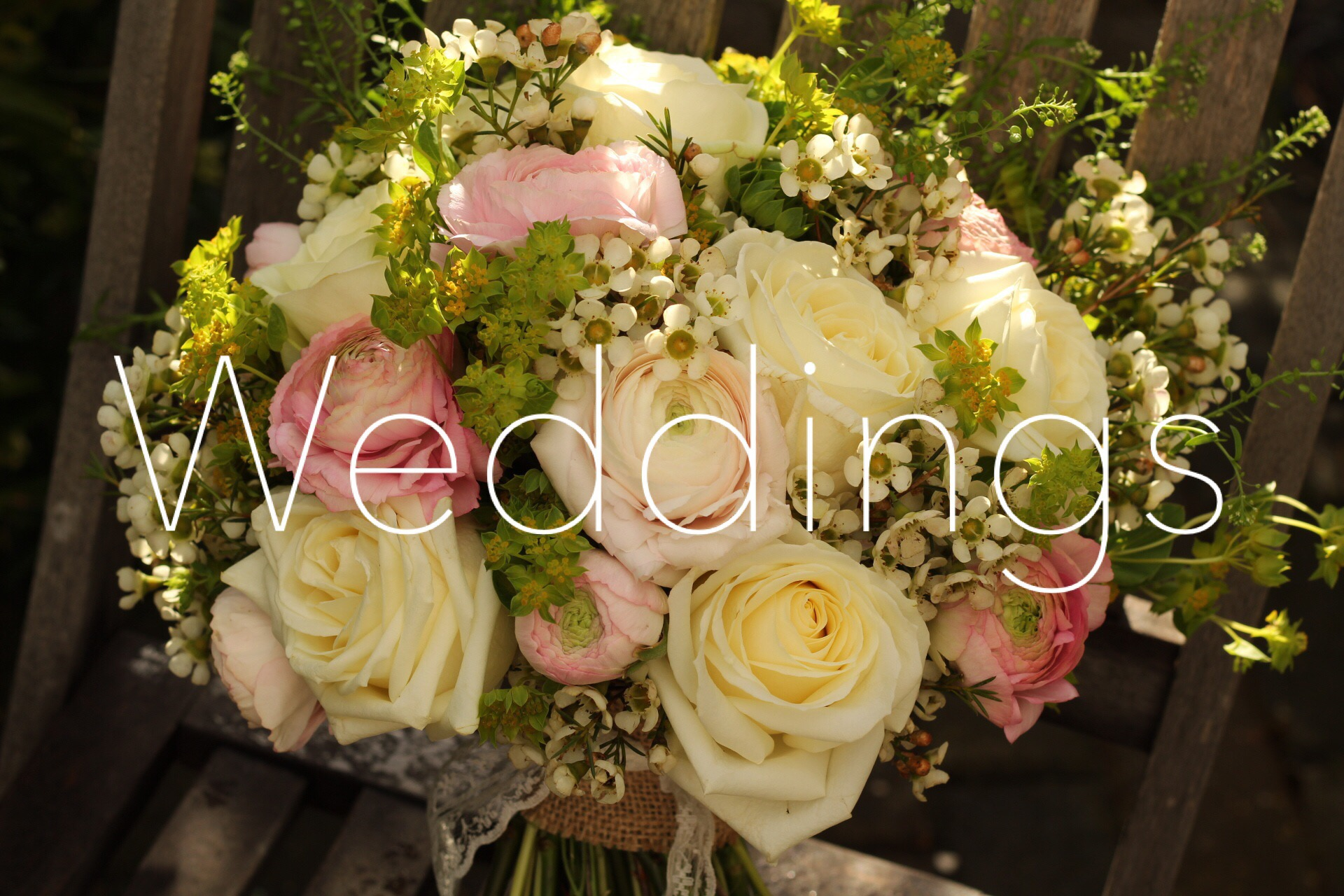 Wedding Flowers from The Flower Cottage