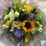 Hand-tied gift bouquet from Kent florist