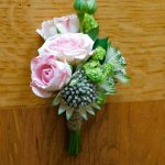 Wedding flowers natural buttonhole, The Flower Cottage, Kent